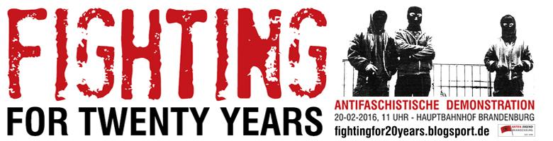 Fighting for Twenty Years